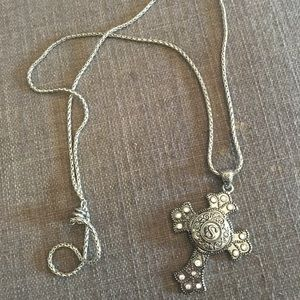 Jewelry - Ginger Snap Cross Necklace